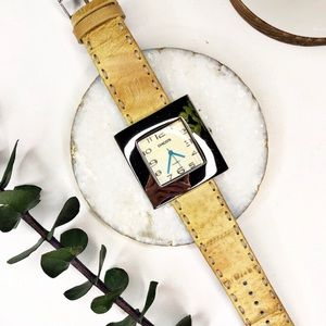 CHICO'S Tan Leather Watch